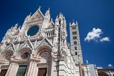 Free The Cathedral Of Siena Stock Photos - 21134393