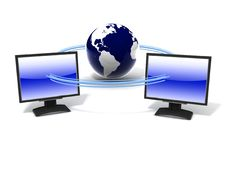 Free Global Network The Internet Stock Photos - 21134723