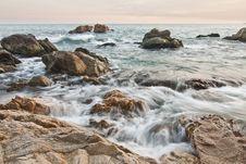 Free Costa Brava Beach II Stock Photo - 21134810