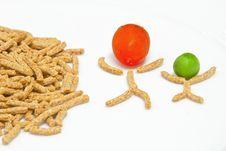 Free Crunchy Fiber Breakfast Royalty Free Stock Photos - 21134828