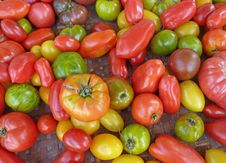 Free Peppers Royalty Free Stock Photography - 21135137