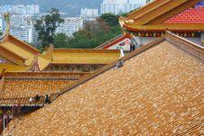 Free Roofs At Kek Lok Si Temple Stock Photos - 21135153