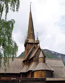 Viking Church Royalty Free Stock Photo