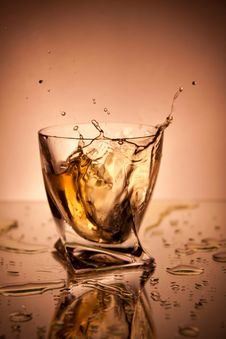 Free Whiskey With Ice Stock Image - 21136081