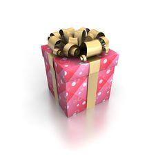 Free Gift Royalty Free Stock Image - 21136106