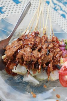 Free Satay Stock Photos - 21136173