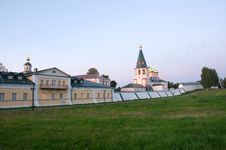 Free Iversky Svyatoozersky Virgin Monastery Stock Image - 21136621