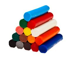 Free Colorful Soft Plasticine Bars. Stock Photography - 21136852