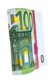 Free One Hundred Euro Banknotes. Stock Photos - 21136923