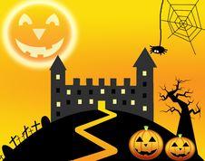 Free Halloweens Night Royalty Free Stock Photo - 21137115