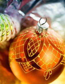 Free Christmas-tree Decorations Royalty Free Stock Photo - 21137845