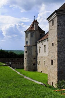 Free Tower Of Fagaras Citadel 2 Stock Images - 21138114