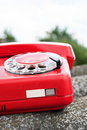 Free Red Phone Royalty Free Stock Photo - 21143395