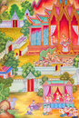 Free Mural Buddhist Religion. Royalty Free Stock Images - 21148419