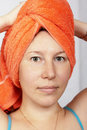 Free Woman After A Shower Stock Image - 21148421