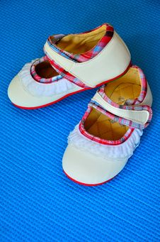 Free Baby Shoes Stock Photo - 21140060