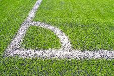 Free Football Grass Background Stock Images - 21140594