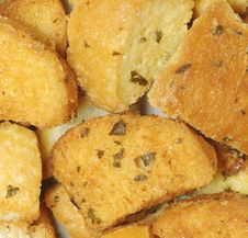 Free Bread Croutons Royalty Free Stock Photo - 21141435