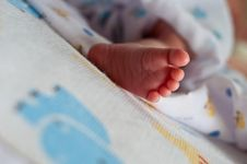 Free Baby Foot Stock Photography - 21143012