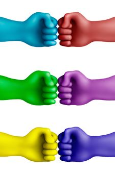 Free Color Agreement-10 Stock Photography - 21143072