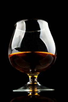 Free Whiskey In A Classic Glass Stock Photography - 21143452