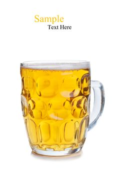 Free Fresh Glass Of Beer Stock Photography - 21143632