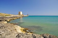Free Bay Of Manacore, Apulia, Italy. Stock Image - 21143701