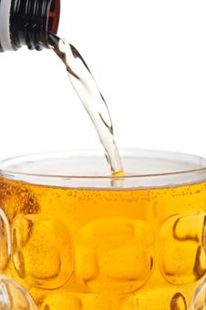 Free Fresh Glass Of Beer Stock Photos - 21143843