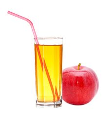 Free Red Apple With Juice Royalty Free Stock Photo - 21143885