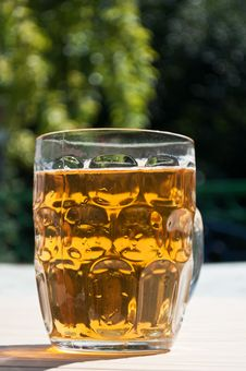 Free Fresh Glass Of Beer Royalty Free Stock Photos - 21143968