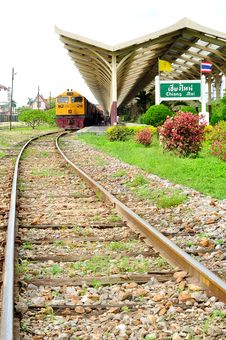 Free Chiangmai Train Station Royalty Free Stock Photo - 21143975