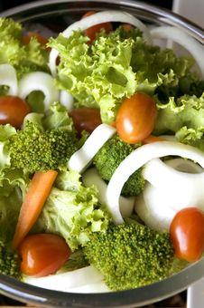 Free Healthy Mixed Salad Stock Photo - 21144060