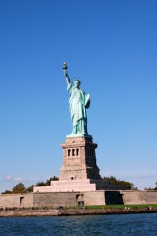 Free The Statue Of Liberty Royalty Free Stock Photo - 21144145