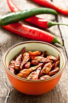 Free Red Chili Pepper Royalty Free Stock Photography - 21144147
