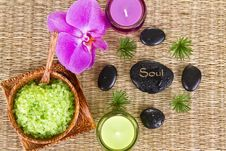 Free Soul - Spa Concept Royalty Free Stock Photos - 21144268