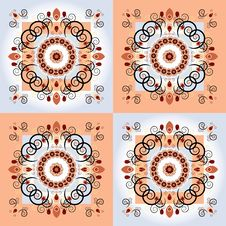 Free Pattern With Flower Royalty Free Stock Photo - 21144505