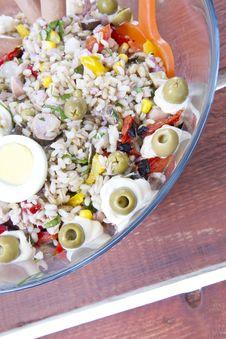 Free Rice Salad Royalty Free Stock Photo - 21144545