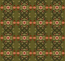 Free Pattern With Flower Seamless Texture Stock Photo - 21144560