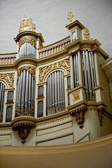 Free Church Organ Royalty Free Stock Image - 21144706