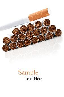 Free Problem Of Smoking Royalty Free Stock Photos - 21144888