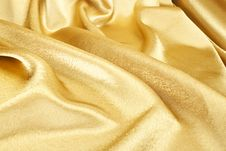 Free Golden Silk Royalty Free Stock Photos - 21145108