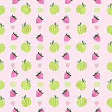 Free Vector Fruit Background. Royalty Free Stock Photography - 21145437