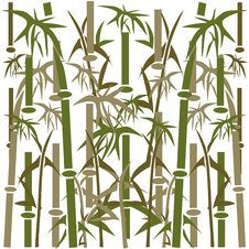 Free Bamboo Background. Royalty Free Stock Images - 21145479