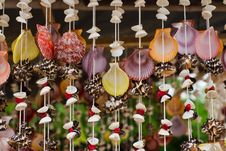 Free Handicrafts Produced By The Shell Wall Stock Photos - 21147283