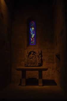 Free Chapel, Abbey Church, Fontfroide Royalty Free Stock Images - 21148599