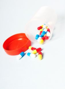 Free Medical Pills Stock Photo - 21148750