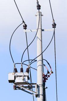 Free Power Lines Stock Photo - 21149380