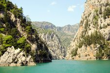 Free View Mounttain Green Canyon In Turkey Stock Image - 21149831
