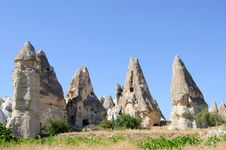 Free Stone Formation Of Cappadocia Turkey Stock Images - 21149924
