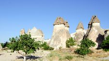 Free Stone Formation Of Cappadocia Turkey Stock Photo - 21149970